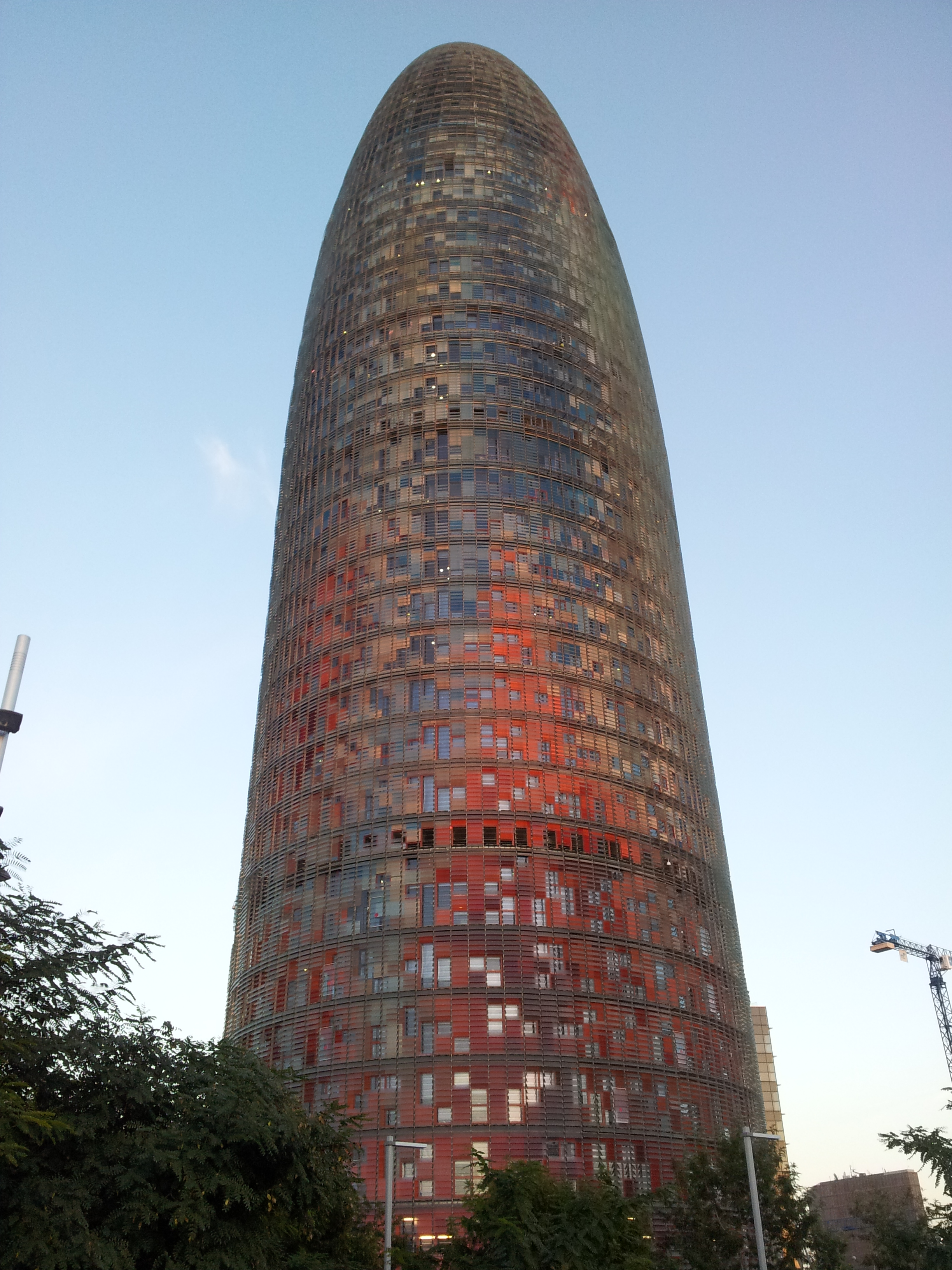 Torre Agbar – a symbol of contemporary Barcelona